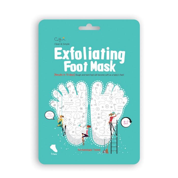 maska złuszczająca do stóp