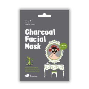 17.Cettua C&S Charcoal Facial Mask