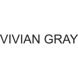logo marki do pielęgnacji ciała i dłoni vivian gray przedstawione na białym tle