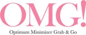 logotyp marki omg w kolorze różowym