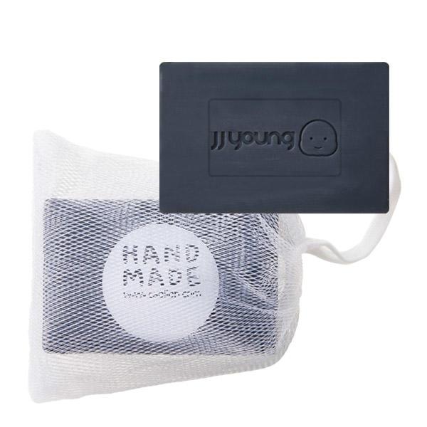 JJYoung by Caolion Lab - All in one Soap - Mentolowe mydło w kostce w czarnym opakowaniu