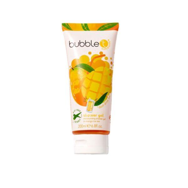 Bubble T - Żel pod prysznic | Herbata mango przedstawiona na białym tle