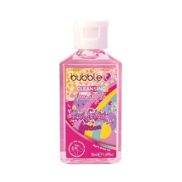 Bubble T - Żel antybakteryjny | Rainbow w rózowej butelce przedstawiony na bialym tle