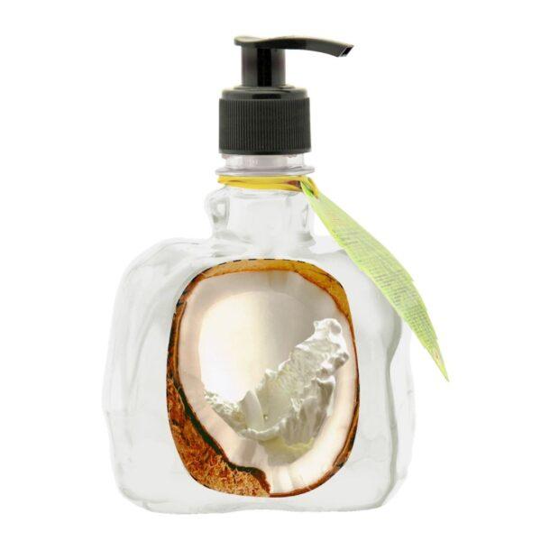Energy of Vitamins - Kremowe mydło z ekstraktem z kokosa przedstawiony na białym tle