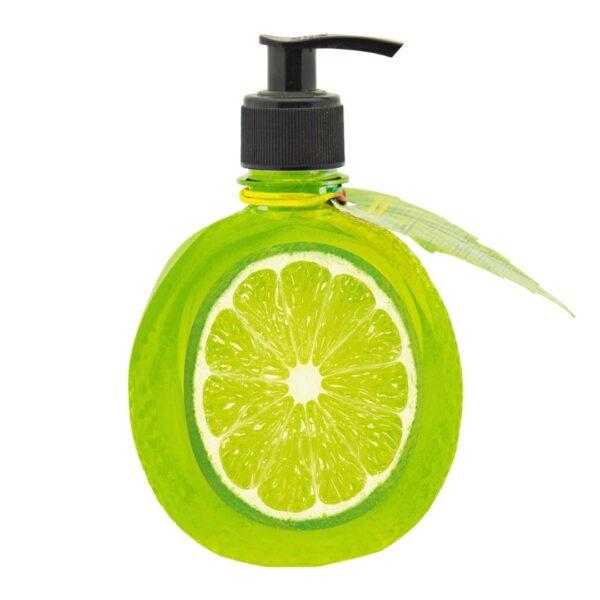 Energy of Vitamins - Kremowe mydło z ekstraktem z limonki przedstawiony na białym tle